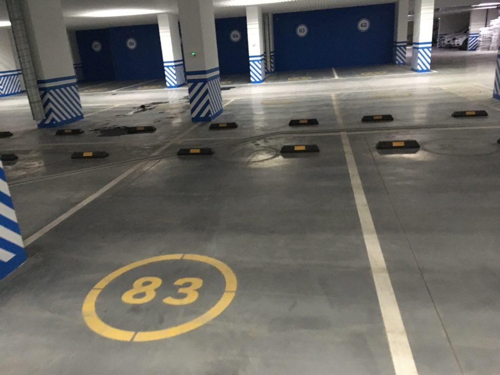 Парковка ЖК Флотилия